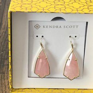 Kendra Scott Carla Rose Quartz Earrings